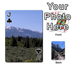 Jack Out West Cards By Terri   Playing Cards 54 Designs   Vrzd1uzgkdos   Www Artscow Com Front - ClubJ