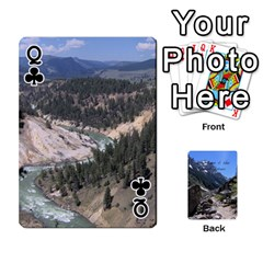 Queen Out West Cards By Terri   Playing Cards 54 Designs   Vrzd1uzgkdos   Www Artscow Com Front - ClubQ