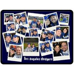 dodgers - Fleece Blanket (Large)