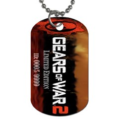 Gears Of War 2 By Alexander Stephens   Dog Tag (two Sides)   0jb8hghbtw4j   Www Artscow Com Front