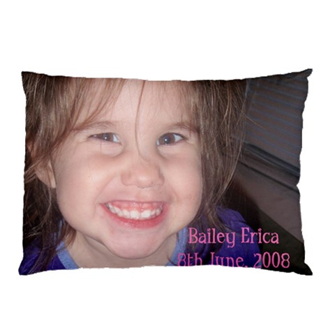Bailey s New Pillowcase :) By Erin   Pillow Case   09mknu18y9n4   Www Artscow Com 26.62 x18.9 Pillow Case