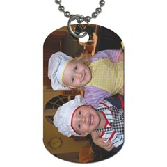 Bakers By Faith Hale   Dog Tag (two Sides)   8883f9cu761m   Www Artscow Com Front