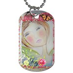 charms - Dog Tag (One Side)