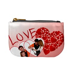 Love By Wood Johnson   Mini Coin Purse   Xij0m8k487ef   Www Artscow Com Front