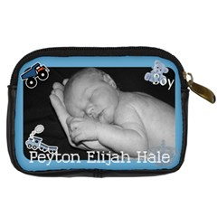 Grandbabies Camera Bag By Faith Hale   Digital Camera Leather Case   Dvmqje16w6tm   Www Artscow Com Back