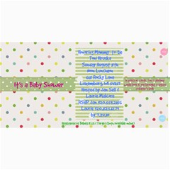 Toni Shower By Kerry Englebert   4  X 8  Photo Cards   6nhb2omot5u8   Www Artscow Com 8 x4 Photo Card - 3
