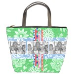 Summer Picnic Purse - Bucket Bag