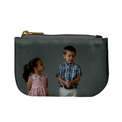 Looking Up To Her Little Brother By Bethnoel   Mini Coin Purse   9uoaxy92g1mx   Www Artscow Com Front