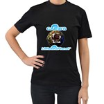 Caleb s Little Big Planet Shirt - Women s Black T-Shirt (Two Sides)