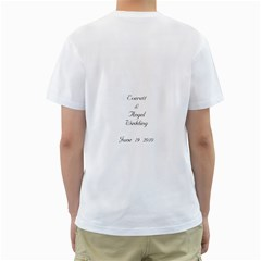 Everett By Rosanna   Men s T Shirt (white) (two Sided)   Lhb8wzo2c4hy   Www Artscow Com Back