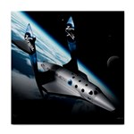 SpaceShip.jpg space travel Tile Coaster