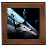 SpaceShip.jpg space travel Framed Tile