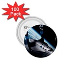 SpaceShip.jpg space travel 1.75  Button (100 pack)