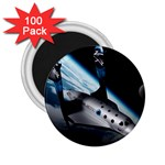 SpaceShip.jpg space travel 2.25  Magnet (100 pack)