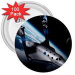 SpaceShip.jpg space travel 3  Button (100 pack)