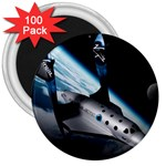 SpaceShip.jpg space travel 3  Magnet (100 pack)