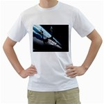 SpaceShip.jpg space travel White T-Shirt