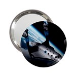 SpaceShip.jpg space travel 2.25  Handbag Mirror