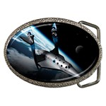 SpaceShip.jpg space travel Belt Buckle