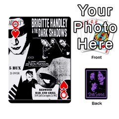 Queen Darks2 By Brett Barker   Playing Cards 54 Designs   Lk4knar4nuuw   Www Artscow Com Front - HeartQ