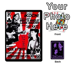 King Darks2 By Brett Barker   Playing Cards 54 Designs   Lk4knar4nuuw   Www Artscow Com Front - ClubK