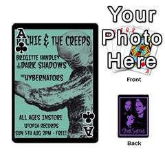 Ace Darks2 By Brett Barker   Playing Cards 54 Designs   Lk4knar4nuuw   Www Artscow Com Front - ClubA