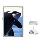 Killer Whale Flip Top Lighter