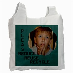 My New Reusable Bag!  By Lynda   Recycle Bag (two Side)   F1ra5c4kal36   Www Artscow Com Front