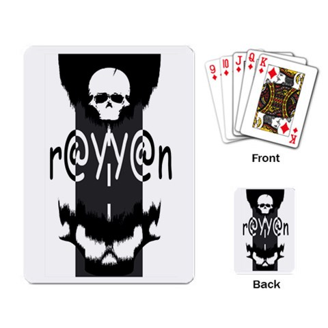 Rayyan Card By Rayyan   Playing Cards Single Design   M3ifep4zj3m3   Www Artscow Com Back