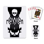 rayyan card - Playing Cards Single Design