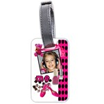 My girl tag - Luggage Tag (one side)