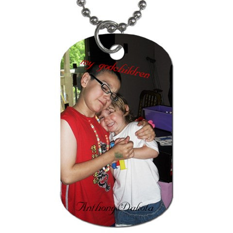 Dogtag By Annette Knotz   Dog Tag (one Side)   Ky8vb7vh3a4d   Www Artscow Com Front