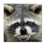 raccoon (2) Tile Coaster
