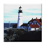 GC2001CAL022_Portland_Head_Lighthouse_Portland_Maine Tile Coaster