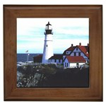 GC2001CAL022_Portland_Head_Lighthouse_Portland_Maine Framed Tile