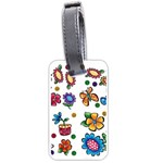 BU1830large Luggage Tag (one side)
