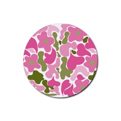 c Rubber Round Coaster (4 pack) from ArtsNow.com Front