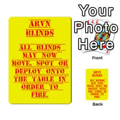 Arvn Cards By Brian Weathersby   Multi Purpose Cards (rectangle)   8ul8wpzunrbk   Www Artscow Com Back 1
