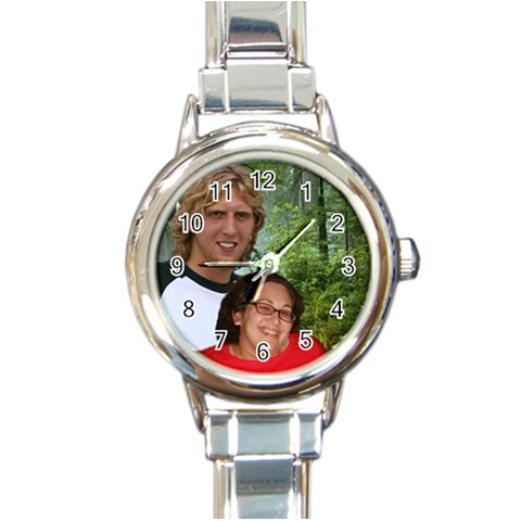 Pam Watch By Charity   Round Italian Charm Watch   Gepcgw81ocal   Www Artscow Com Front