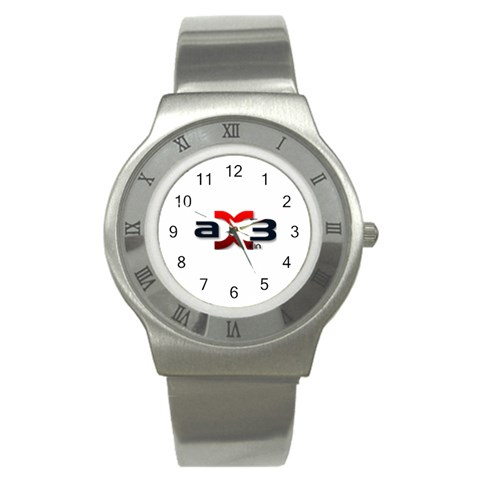 Ax3 Watch By Akash Vedi   Stainless Steel Watch   L1vbaj0ylizo   Www Artscow Com Front