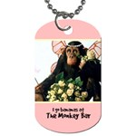 __Monkey Bar_ Tag 81 - Dog Tag (One Side)