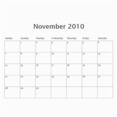 Kim Calendar By Kimberly Phelan   Wall Calendar 11  X 8 5  (18 Months)   Uoy0o1y339zb   Www Artscow Com Nov 2010