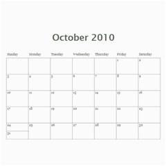 Kim Calendar By Kimberly Phelan   Wall Calendar 11  X 8 5  (18 Months)   Uoy0o1y339zb   Www Artscow Com Oct 2010