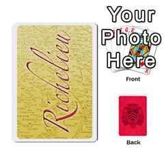 Richelieu Perfect By Doom18   Playing Cards 54 Designs   64labi25vrk6   Www Artscow Com Front - Diamond5