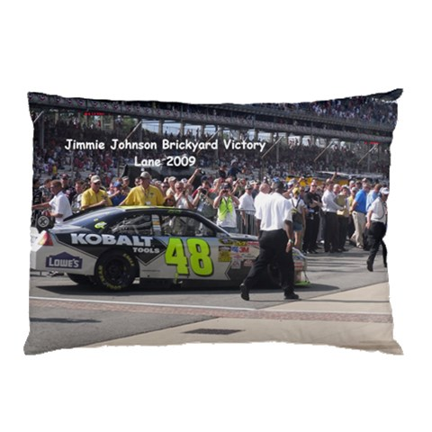 Jimmie Johnson Pillow Case 1 By Stacey Patterson   Pillow Case   9pre7vhc7hmm   Www Artscow Com 26.62 x18.9 Pillow Case