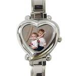 My New Watch - Heart Italian Charm Watch