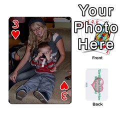 Momomom By Amberle Williams   Playing Cards 54 Designs   1r64z4aa9un2   Www Artscow Com Front - Heart3
