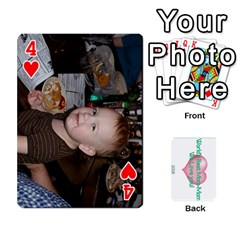 Momomom By Amberle Williams   Playing Cards 54 Designs   1r64z4aa9un2   Www Artscow Com Front - Heart4
