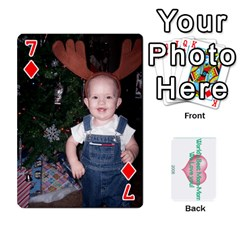 Momomom By Amberle Williams   Playing Cards 54 Designs   1r64z4aa9un2   Www Artscow Com Front - Diamond7