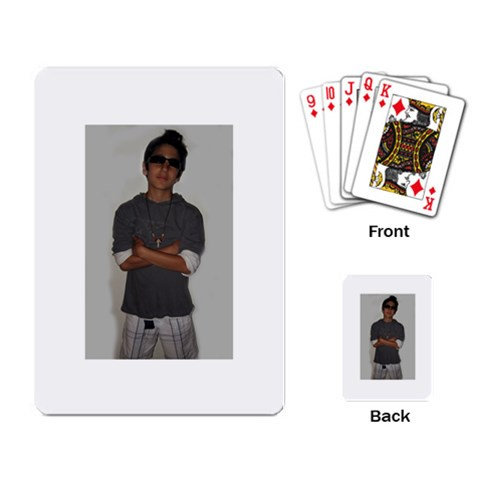 By Samir   Playing Cards Single Design   Yfe1rfo7xzaw   Www Artscow Com Back